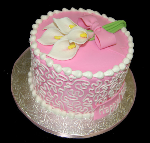 Calla Lilly Mother's Day cake