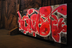 Swet (Eyecandi - Rob Hawke) Tags: streetart art industry germany deutschland nikon htte exhibition unesco worldheritagesite urbanart ausstellung worldheritage saarland weltkulturerbe smelter voelklingen swet vlklingen vlklingerhtte d80 nikond80 vlklingenironworks eyecandi roberthawke robhawke graffiti21