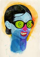 girl sunglasses illustration graphic