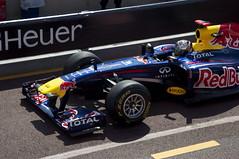 Seb Vettel - Monaco Pits