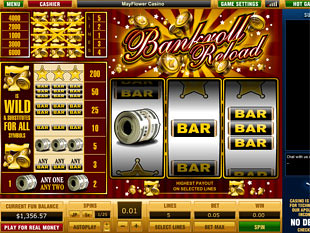 Bankroll Reload 5 Lines slot game online review