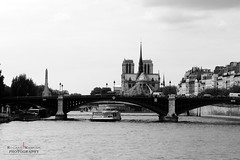 Notre Dame (RW Creative Studio) Tags: city bw paris france love seine architecture landscape town amazing frankreich europe awesome sightseeing notredame sw notre dame panam laseine citysights paname blackewhite