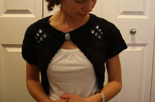 Anthropologie inspired caplet