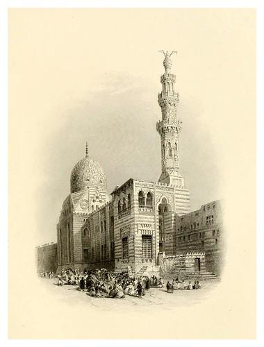 027-Tumba del sultan Kaitbay-Bartlett, W. H. 1849