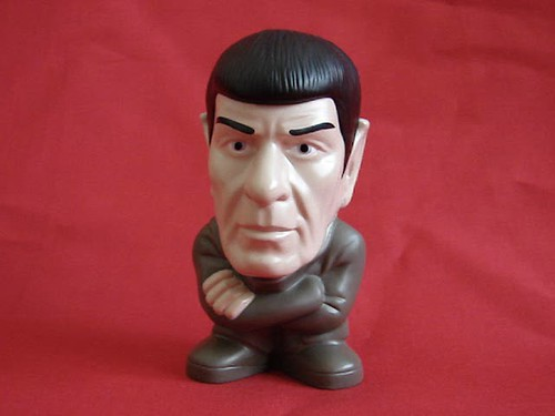 Burger King Kids Meal, Spock Toy