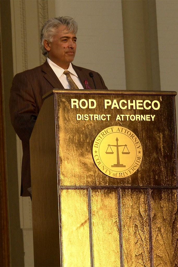District Attorney, Rod Pacheco