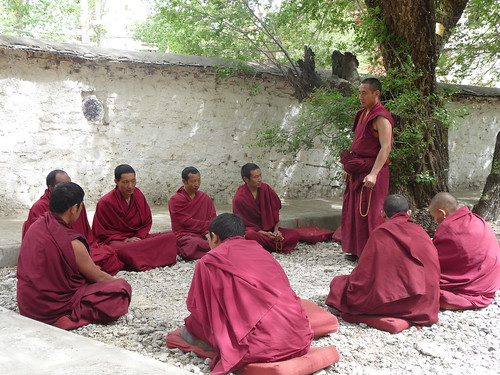 Debating monks, Sera Monastery