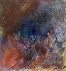 astratto senza titolo (daniele pennazzi) Tags: blue red abstract art modern silver paint acrylic contemporary quadro astratto rosso futuro acrilico effetto spatola