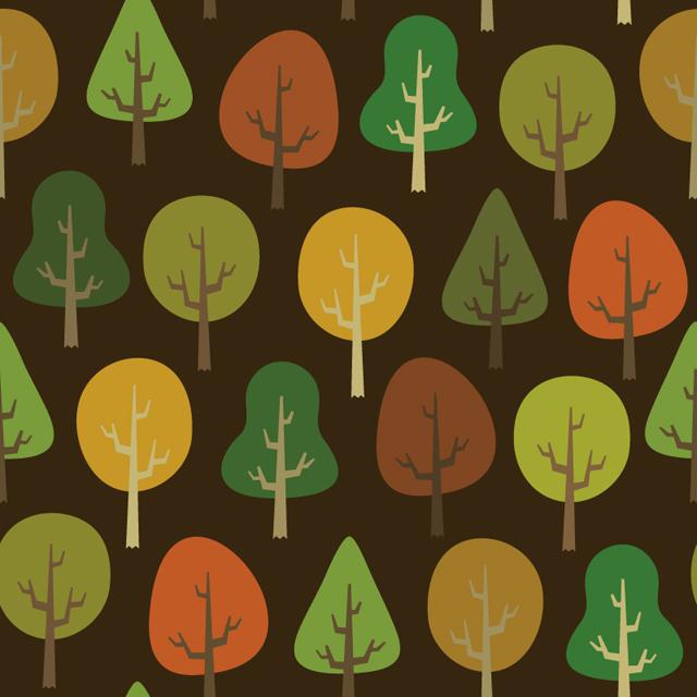 #076 - Trees Pattern