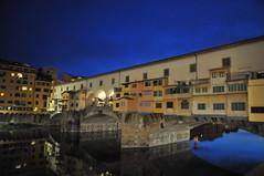 Florence - Ponte Vecchio (Old Bridge) at Night (mbell1975) Tags: old bridge italy night river florence italian europa europe italia eu ponte tuscany firenze arno toscana vecchio toscano florentia