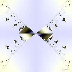 Birds of a Feather Flock Together (>Cluke) Tags: abstract art digital fire gold cool awesome digitalart artsy stunning fractal fractals tierazon cluke