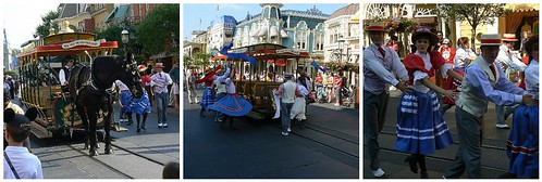 Right down Main Street USA