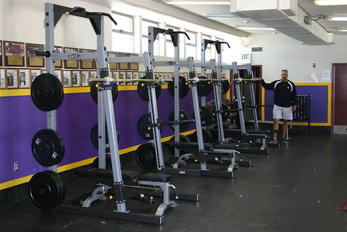 Scarpelli's Row of new Racks at Amador