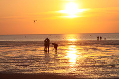 Sunset in Cuxhaven I