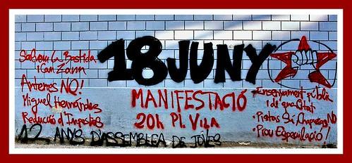 Resultat d'imatges de graffittis mobilització social