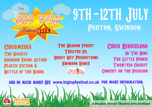 The Big Top Festival poster