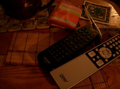Still Life with Remote Controls