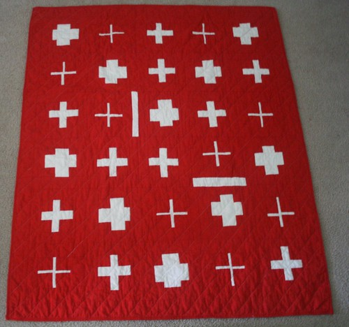 Swiss Cross Quilt