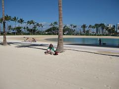 Me under coconut palm 2