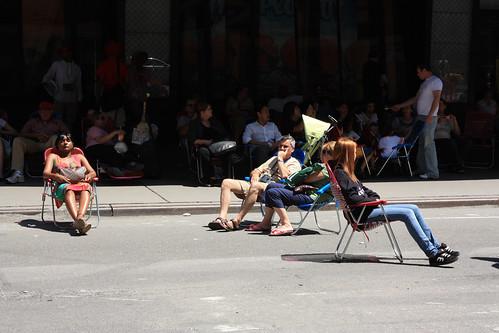Times Square, pedestrian mall