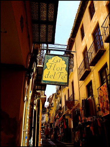Postcards from Spain | The Markets and Signboards of Granada