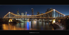 Brisbane City - Story Bridge (Cass n Dan) Tags: travel sky panorama night reflections river lights twilight nikon dusk australia brisbane lookout explore valley qld queensland wilson bluehour storybridge brisbanecity fortitudevalley d90 brisbanenight nikond90 brisbanelights alemdagqualityonlyclub brisbanecitylights cassndan