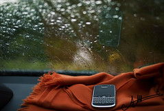 J'aime Entendre Ta Voix ,, (A.A.A) Tags: leica orange france love car rain by photography blackberry bokeh rainy shawl bb hermes aaa bold 9000 amna bbb deauville irresistible m82 abdulaziz althani blackberrybold leicam82