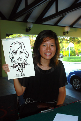 Caricature live sketching for Costa Sands Resort Day 2 - 8
