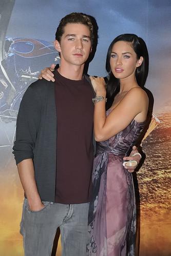 shia labeouf and megan fox transformers 2. Transformers 2, Megan Fox