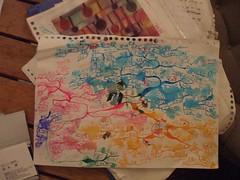 雨にぬれたマインドマップ