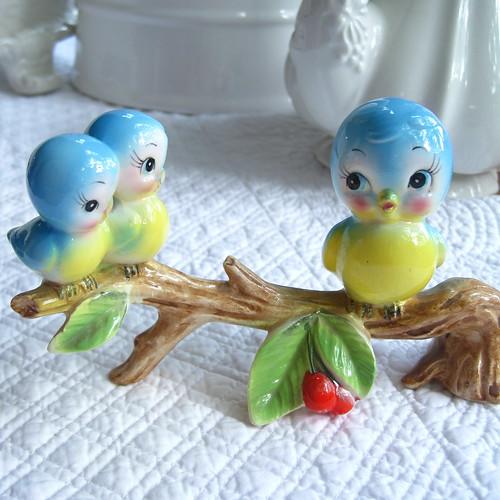 Baby Birds and Momma Bird