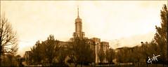 Vintage Mount Timpanogos Temple (BHagen) Tags: wedding panorama vintage temple utah nikon marriage mormon lds d80 mounttimpanogostemple