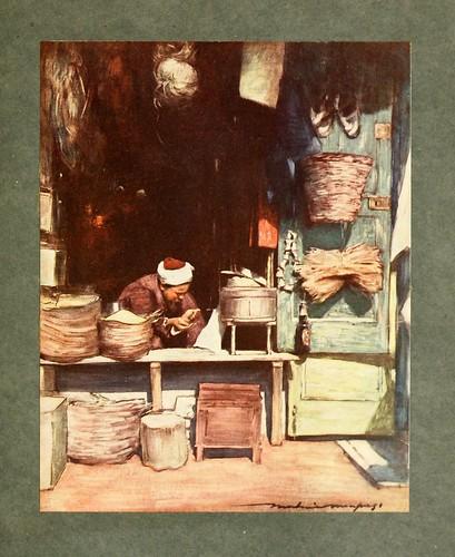 010- Puesto de semillas en Delhi-The people of India 1910