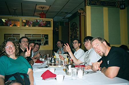 Otakon 2001 - Dinner