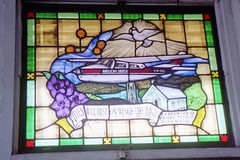 920815 Flying Church (rona.h) Tags: australia august stainedglass 1992 cacique anglicanchurch thursdayisland ronah vancouver27 quettamemorialchurch
