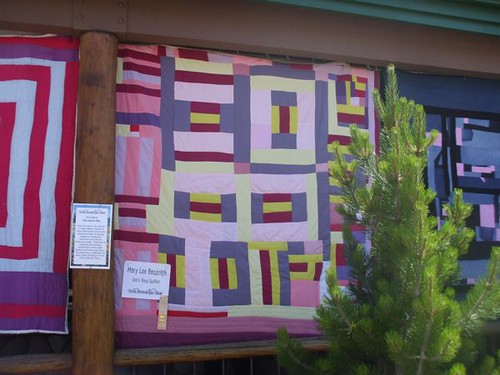 Mary Lee Bendolph's quilt, Gee's Bend - Sisters