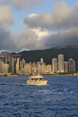 HK (_pinkpolkadots_) Tags: ocean from blue buildings island side hong kong kwoloon