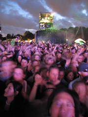 Lovebox Weekender (russelljsmith) Tags: uk blue friends england people music london festival clouds fun concert victoriapark europe gig drinks drunks 2009 lovebox loveboxweekender 77285mm loveboxweekender2009 lovebox2009 lastfm:event=861454