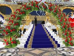 Ed and Estrellas Wedding_005 (Alvi Halderman) Tags: world life wedding blanco ed casa lab fiesta linden boda altar sl secondlife virtual estrellas second adrian cynthia ll eduardo lindenlab metaverse fergi alv estre xeltentat mysthia