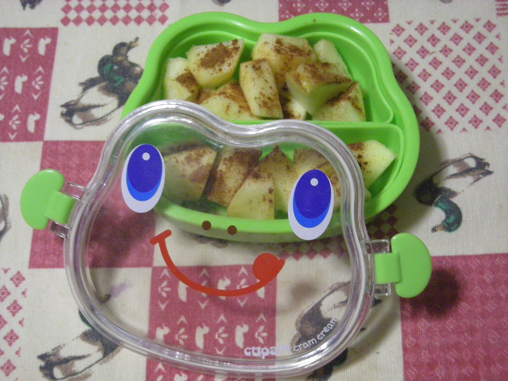 Side dish Frog Face