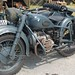 German BMW bike with sidecar