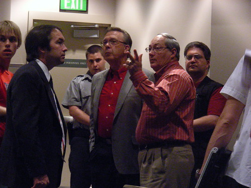 Jerry Prevo and other ordinance opponents, after the ordinance was  passed