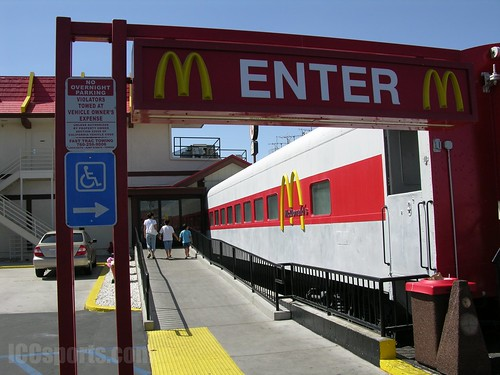 Barstow McDonald's Restaurant