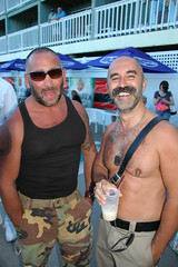 DSC_0119 (bucksboy) Tags: bear gay hairy beard goatee cub provincetown massachusetts ptown 2009 unshaven scruff hairychest boatslip bearweek gaybear ptownbearweek bearweek2009 ptownbear theboatslip