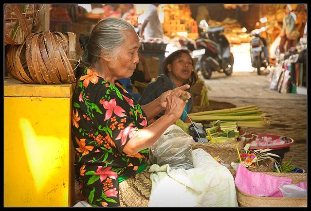 Making offering baskets
