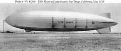 USS Akron at Mooring (lazzo51) Tags: aviation science usnavy blimps airships zeppelins luftschiff dirigibles ussakron zrs4