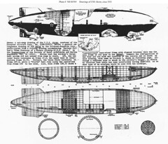 USS Akron Cut-away Drawings (lazzo51) Tags: aviation science usnavy blimps airships zeppelins luftschiff dirigibles ussakron zrs4