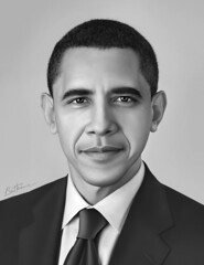 Barack Obama - Realistic Portrait - 1 - (Ben Heine) Tags: portrait blackandwhite bw usa afghanistan reflection art smart closeup print hope war peace noiretblanc quality whitehouse tie smoking digitalpainting congress change leader elegant copyrights speech legacy promise insurance capitolhill controversy socialism expectations sant discrimination oldfashioned socialsecurity realism martinlutherking regard elegance nobelprize highres controversial goodmorningamerica barackobama maisonblanche medicare criticism ihaveadream photoportrait moveonorg difficulties medicaid uspresident esclavage discours cravatte scuritsociale classicportrait prsident changement yeswecan assurancemaladie benheine barackhusseinobama usadministration congrsamricain healthbill jaiunrve ultrarealism flickrunited obamacare rformedessoinsdesant infotheartisterycom