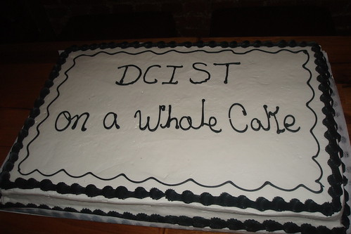 "Just put ""DCist"", on the whole cake"
