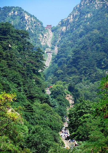 the path up taishan